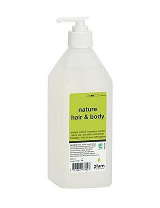 NATURE HAIR + BODY Milde Crèmeseife fü..