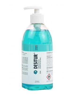 DESITUR® Hygienische und chirurgische Hände-Desinfektion rückfettend 500ml Flasche