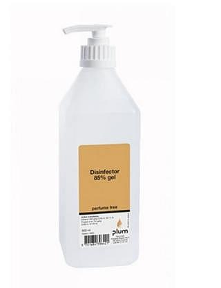 Disinfector 85% Gel de désinfection po..