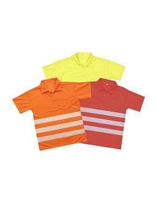 Warnschutz Poloshirt Reflex