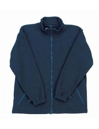Blouson aus Thermovelours