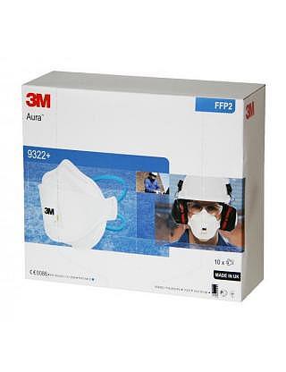 3M 9322 Einwegmasken FFP2 10 Stück