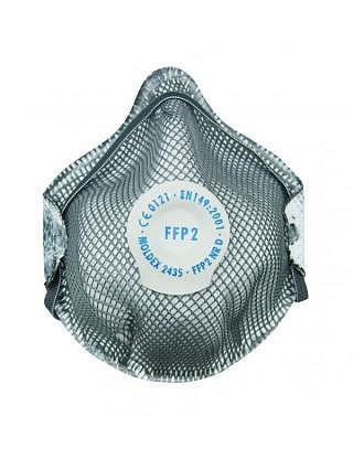 Aktivkohle-Geruchsmasken FFP2D, 10 Stk.