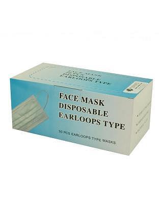 masques hygiéniques à 3 couches, 50 pcs.