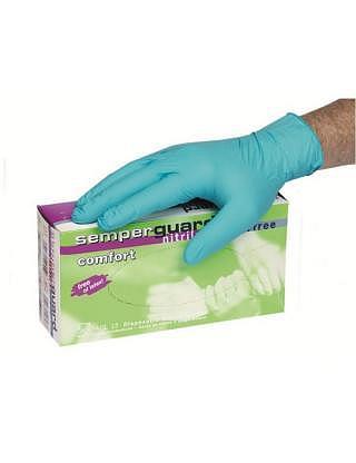 Gants Semperguard nitril Comfort, usag..