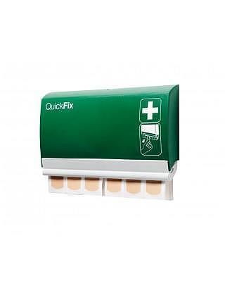 QUICKFIX Pflaster-Dispenser,Plastik wasserfest mit 2x45 Stück
