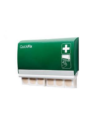 QUICKFIX Pflaster-Dispenser,Textil elastisch mit 2x45 Stück
