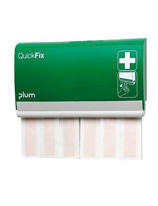 QUICKFIX Pflaster-Dispenser,Textil elastisch lang mit 2x30 Stück