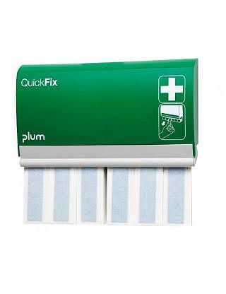 QUICKFIX Pflaster-Dispenser,Textil detektierbar lang mit 2x30 Stück