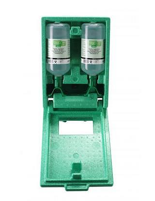 Station lave-oeil Duo NaCl 2x1000ml station murale