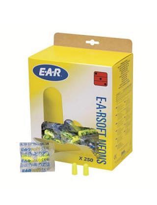Konische Gehörschutzstöpsel EARSOFT NEONS  à 250 Paar