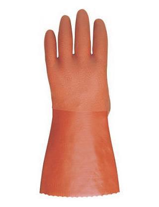 SHOWA 460 Handschuhe mit rauer PVC-Beschichtung und Warmfutter