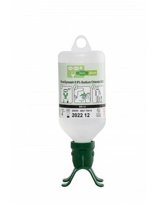 Bouteille rince-oeil Duo NaCl 500ml