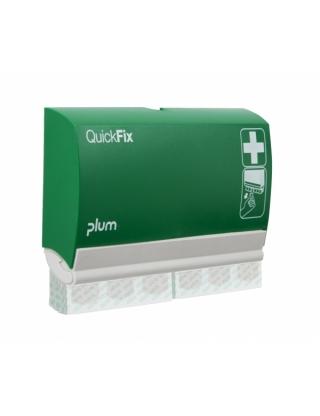 QUICKFIX Pflaster-Dispenser,mit 2x45 Stück Pflaster Aloe Vera